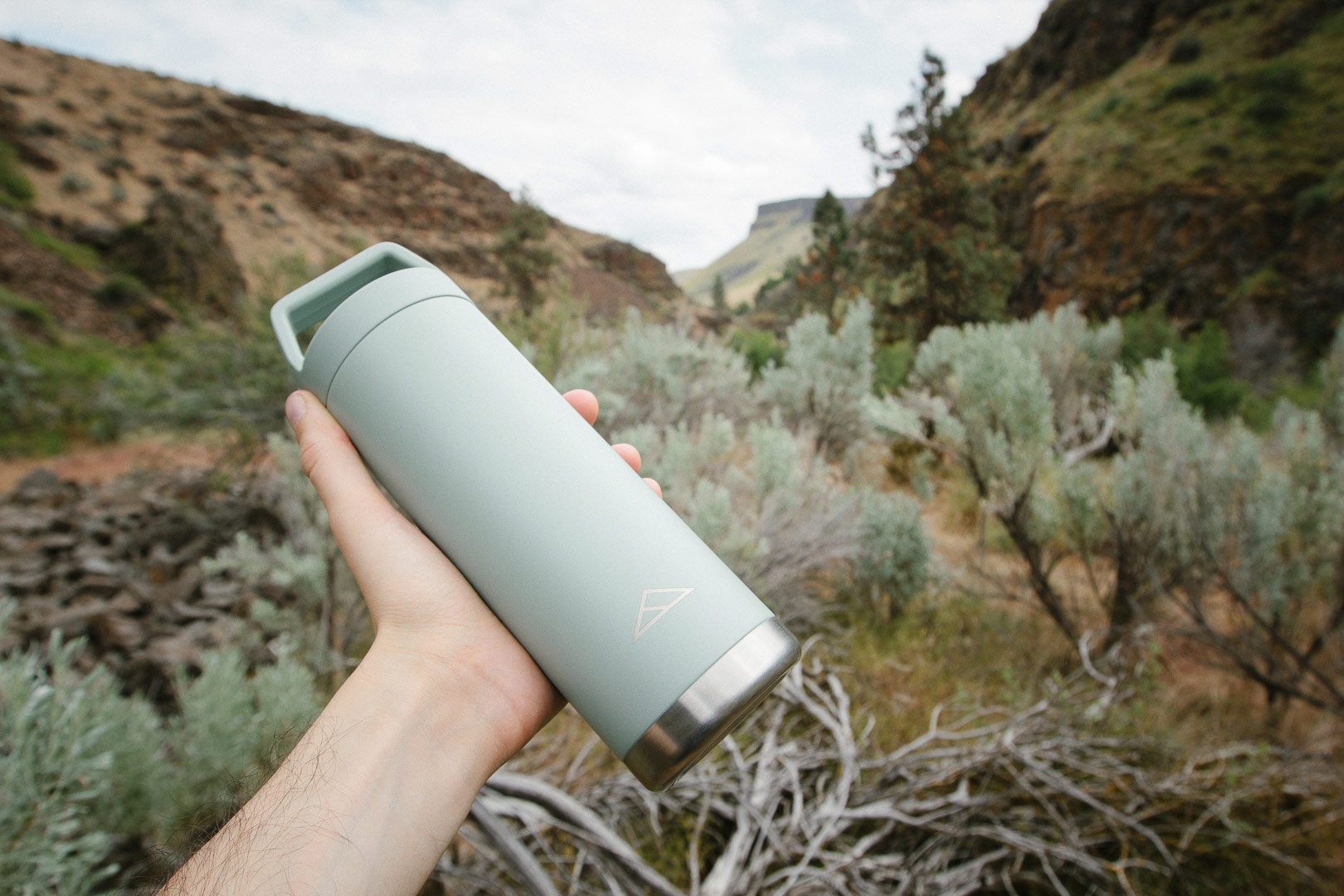 The New Metolius Water Bottle - Responsibly Made, and Built for a Lifetime